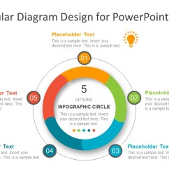 template of process cycle diagram process cycle powerpoint infographics 5 steps  [ 1280 x 720 Pixel ]