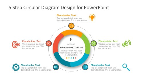 small resolution of template of process cycle diagram process cycle powerpoint infographics 5 steps