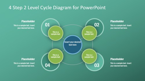 small resolution of process cycle presentation design spoke hub diagram template