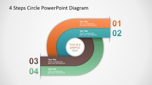 4 Steps Circle PowerPoint Diagram  SlideModel
