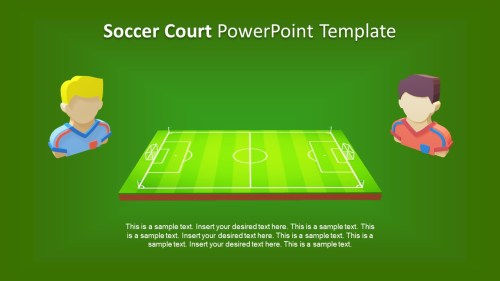 small resolution of presentation of 3d animated game football field slide players clipart