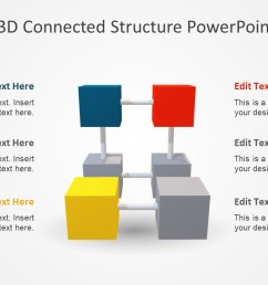 3d cubes ppt segments diagram  [ 1280 x 720 Pixel ]
