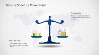 Simple Balance Sheet PowerPoint Template - SlideModel