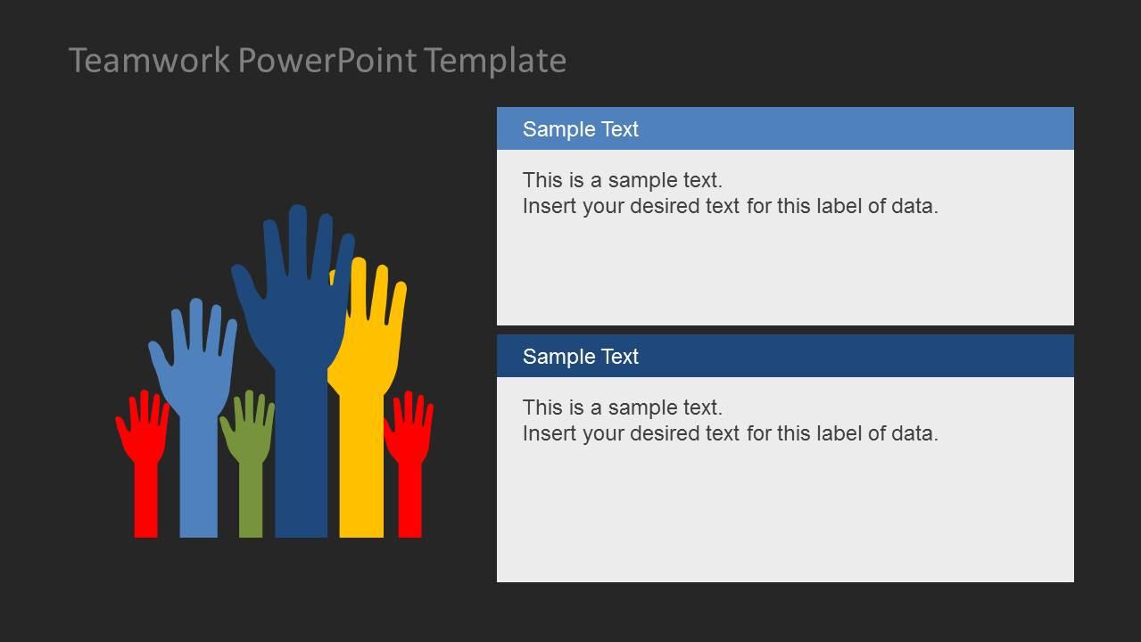 Teamwork PowerPoint Template SlideModel