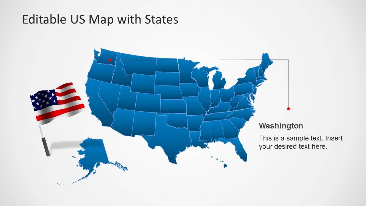 us map template for