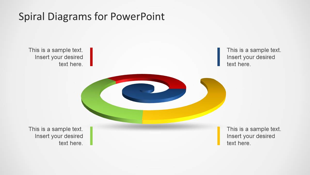process flow diagram shapes wiring for 3 way switch with multiple lights colorful spiral diagrams powerpoint - slidemodel