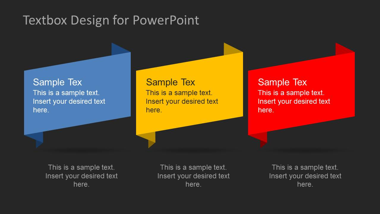 Creative PowerPoint Text Boxes SlideModel