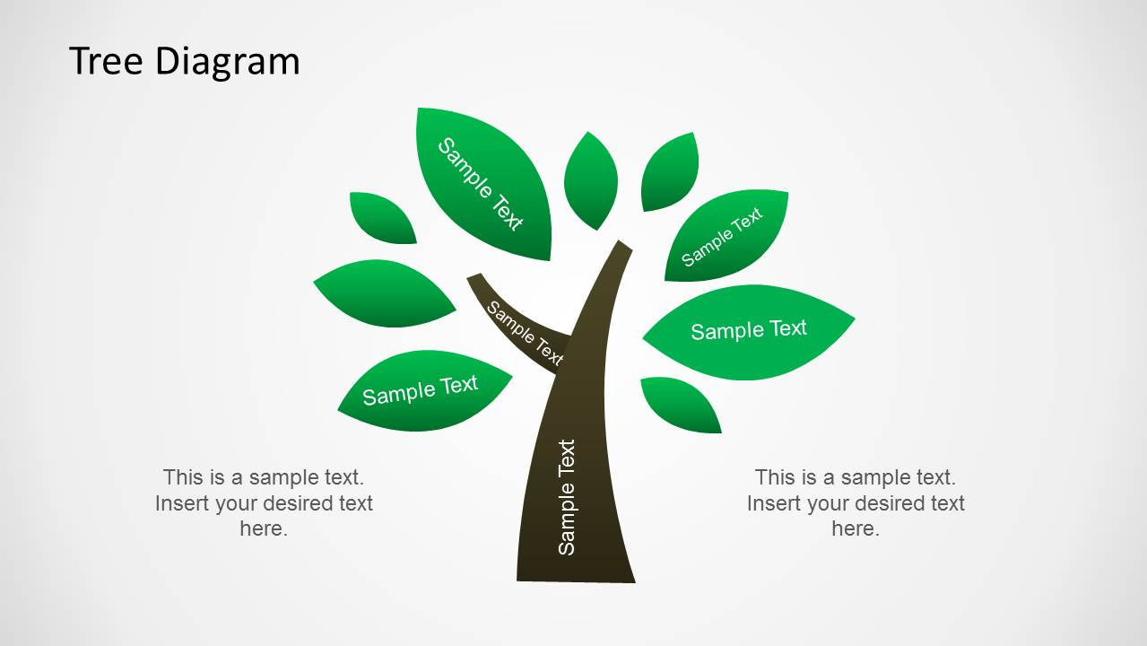 hight resolution of tree diagram illustration for powerpoint
