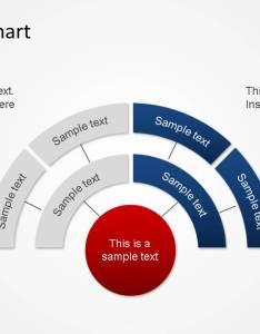Circular org chart powerpoint diagram also organizational slidemodel rh