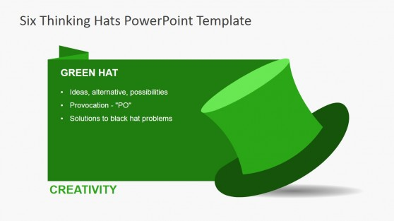 Six Thinking Hats PowerPoint Templates