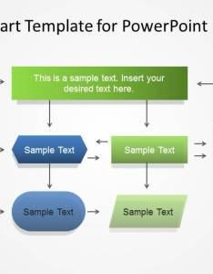 Simple flowchart template for powerpoint also flow chart rh slidemodel