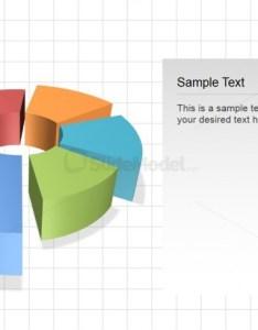 Powerpoint  perspective donut chart also editable for slidemodel rh