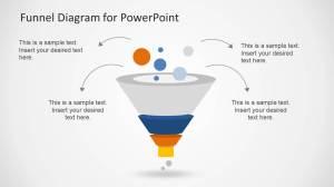 Creative Funnel Diagram Template for PowerPoint  SlideModel