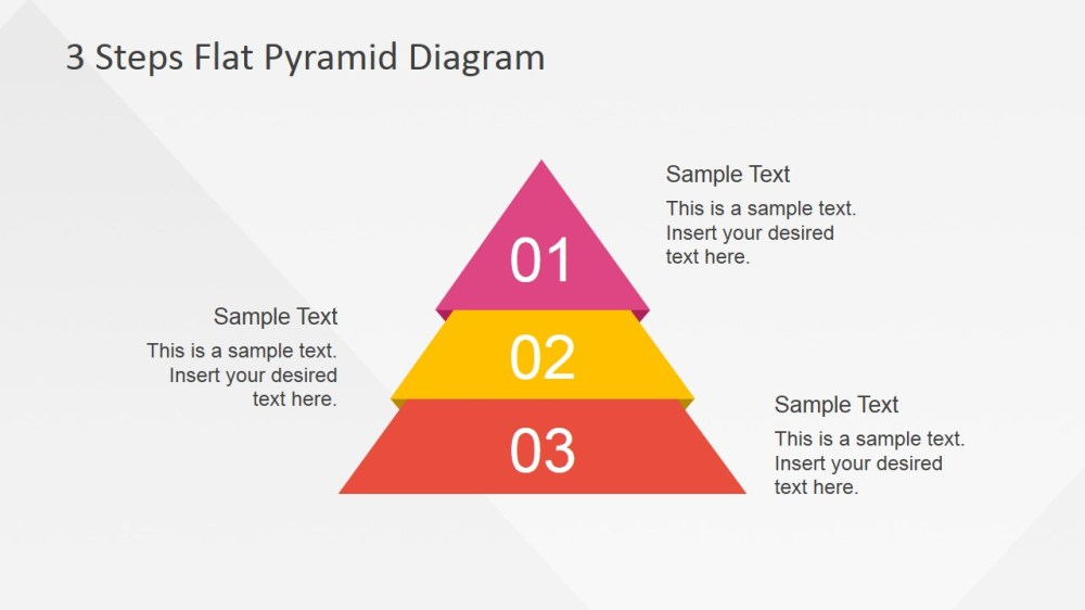 medium resolution of flat powerpoint diagram with 3 steps flat powerpoint pyramid 3 steps described