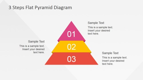 small resolution of flat powerpoint diagram with 3 steps flat powerpoint pyramid 3 steps described