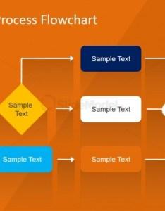Flat flowchart design for business presentation also powerpoint template slidemodel rh