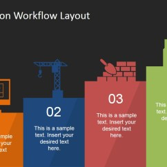 Process Diagram Template Powerpoint Bmw E39 Fuse Box Construction Workflow Layout For - Slidemodel