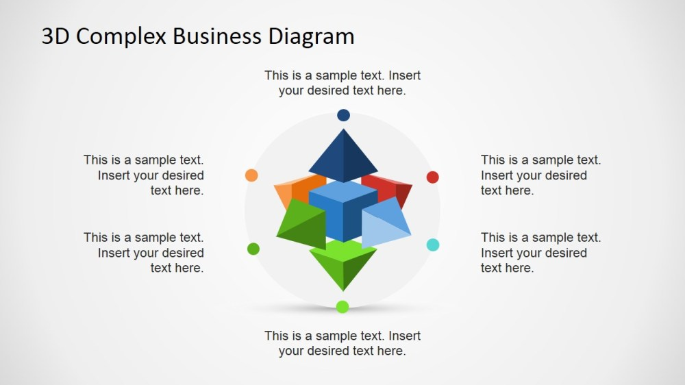 medium resolution of  3d circular flow diagram in powerpoint using shapes 3d complex business diagram for powerpoint