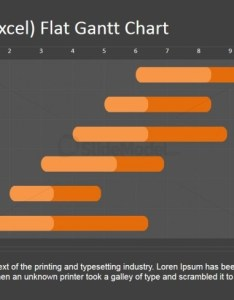 Powerpoint gantt chart excel editable also data driven monthly slidemodel rh