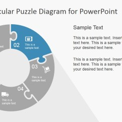 3 Arrow Circle Diagram Chevy Uplander 4 Wheel Drive 5 Step Circular Puzzle Template For Powerpoint - Slidemodel