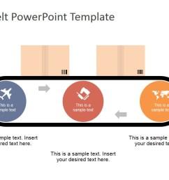 flat conveyor belt powerpoint template [ 1280 x 720 Pixel ]