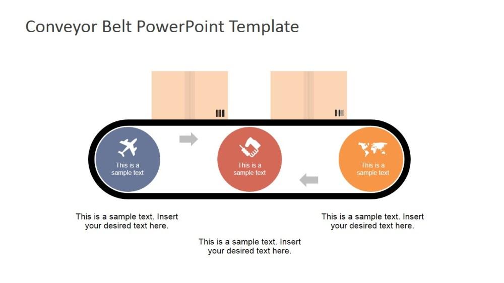 medium resolution of flat conveyor belt powerpoint template