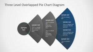 Overlapped Levels Pie Chart PowerPoint Diagram  SlideModel