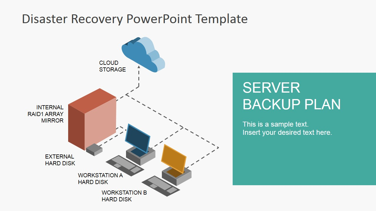 hight resolution of server diagram template