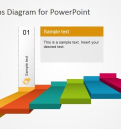powerpoint 6 steps stairs diagram powerpoint diagram stairs first step highlight  [ 1280 x 720 Pixel ]
