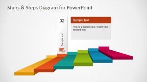 Stairs & Steps Diagram for PowerPoint  SlideModel
