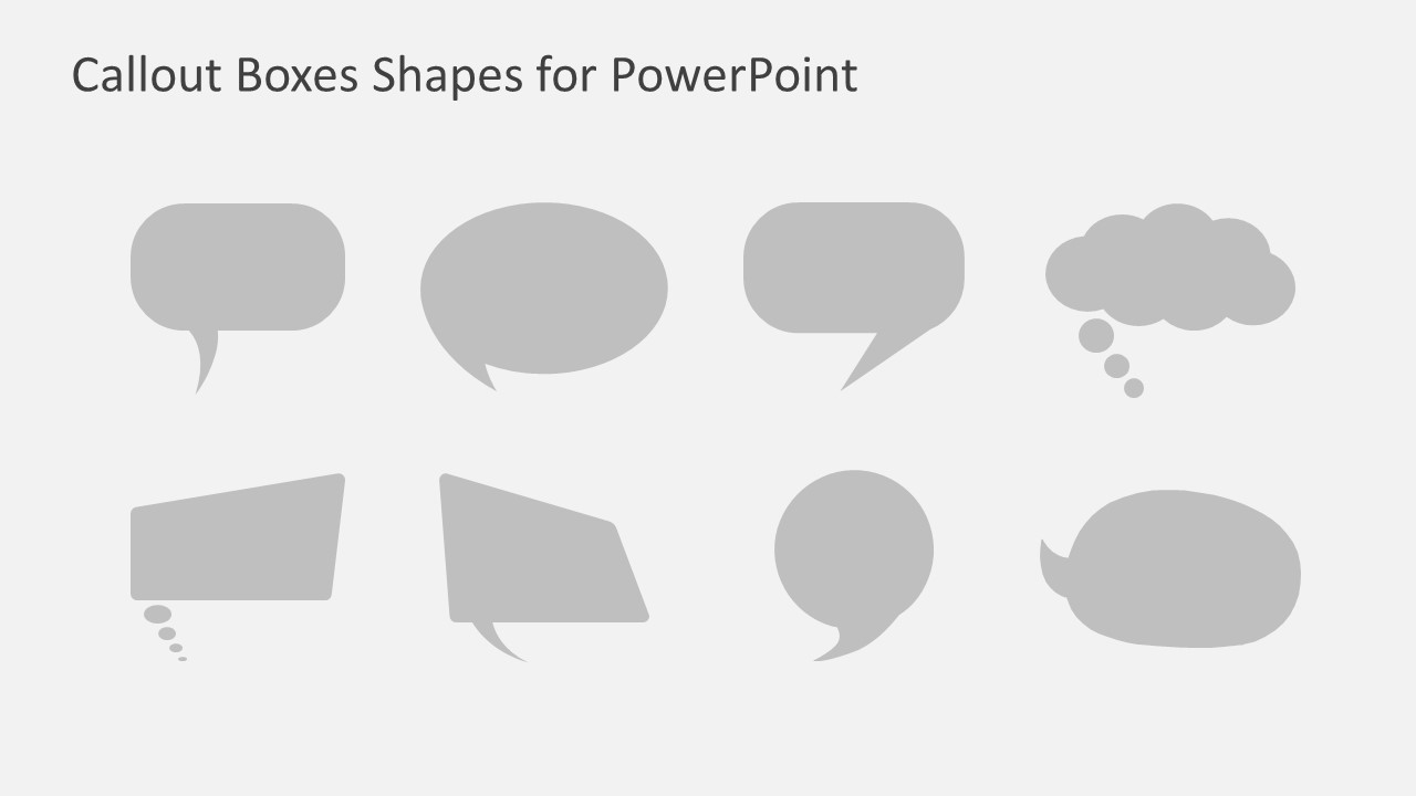 callout boxes powerpoint shapes