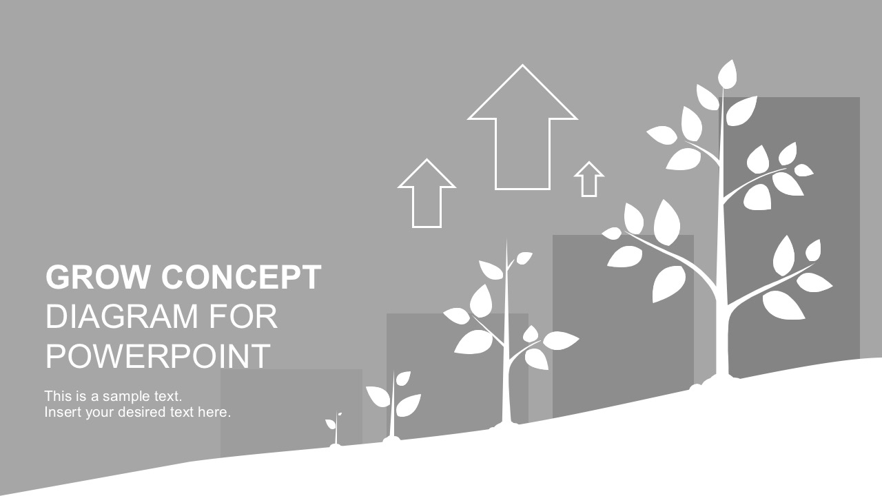hight resolution of money tree diagram for powerpoint presentations growing