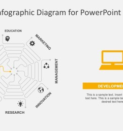 flat design process flow diagrams business powerpoint octagon infographic diagrams with powerpoint icons [ 1280 x 720 Pixel ]