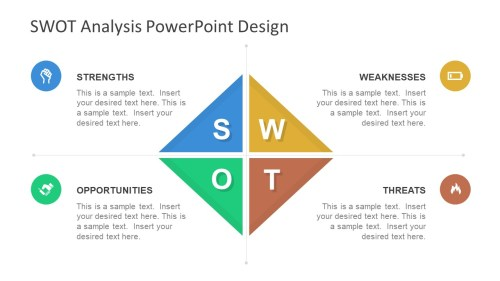 small resolution of diamond swot powerpoint template