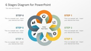 6 Stage Diagram for PowerPoint  SlideModel