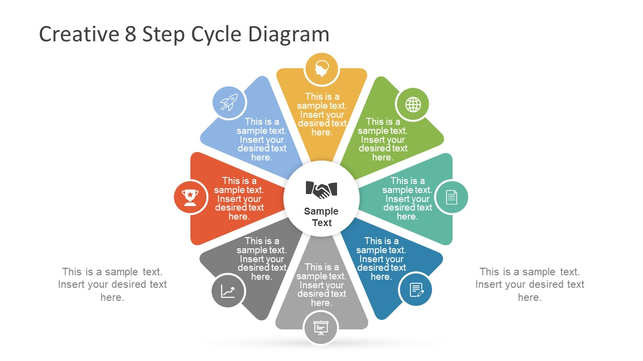 hight resolution of creative 8 step cycle diagram for powerpoint