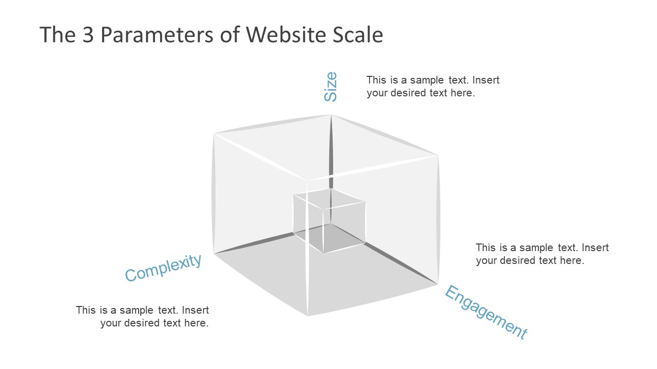 hight resolution of  ppt cube powerpoint shape for scaling website scaling slide basics tree shape powerpoint diagram