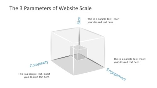 small resolution of  ppt cube powerpoint shape for scaling website scaling slide basics tree shape powerpoint diagram