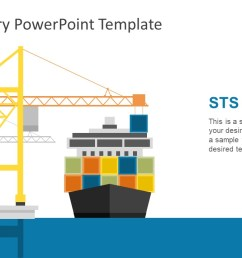 sts crane and container ship illustration  [ 1280 x 720 Pixel ]