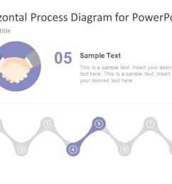 hand shaking icon process flow diagram  [ 1280 x 720 Pixel ]