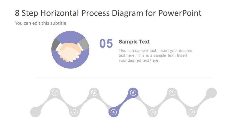 medium resolution of  hand shaking icon process flow diagram