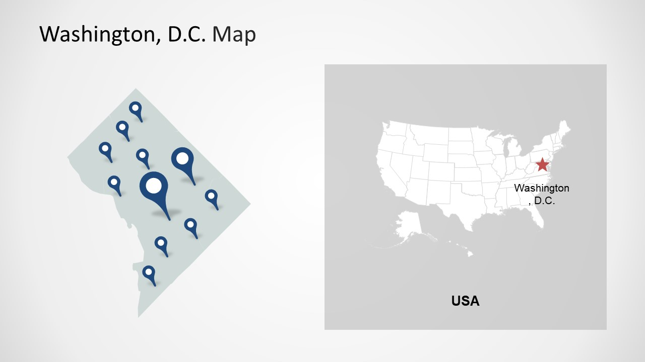 hight resolution of  washington dc clipart template of location markers map