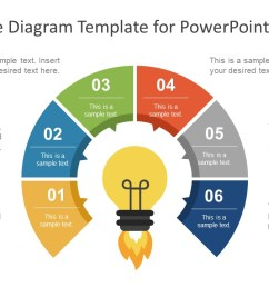 6 step cycle diagram powerpoint template [ 1280 x 720 Pixel ]