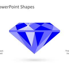 diamond diagram design flat vector  [ 1280 x 720 Pixel ]