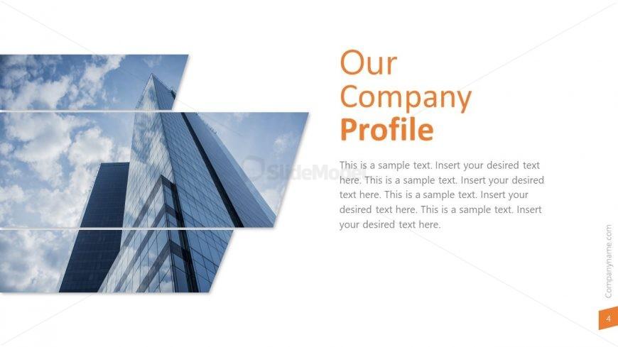Company Profile Introduction Slide  SlideModel
