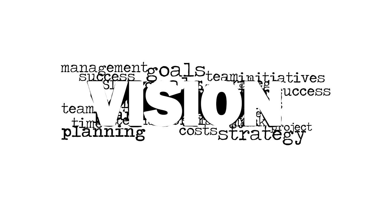 8181 01 Vision Word Cloud Picture 2 SlideModel
