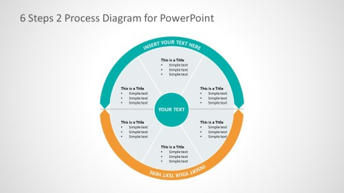 small resolution of 2 process business presentation layout cycle process flow diagram template