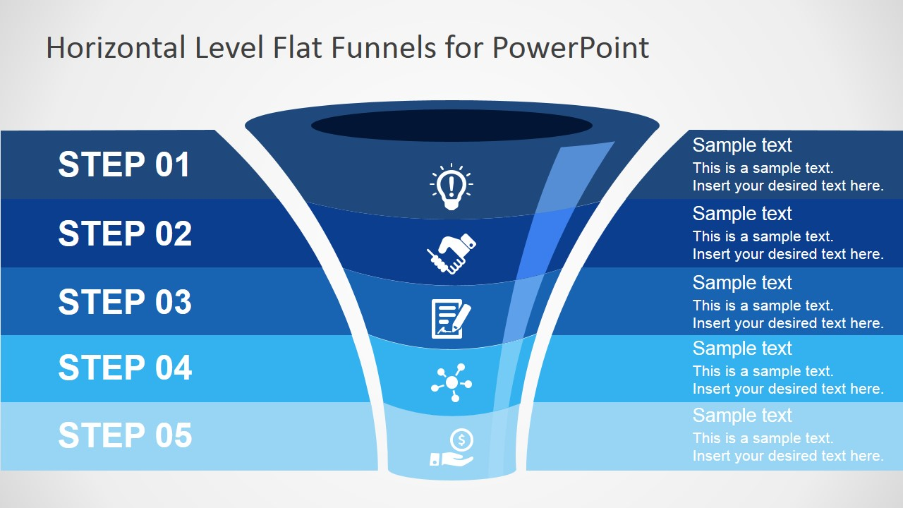 hight resolution of free ppt funnel diagram