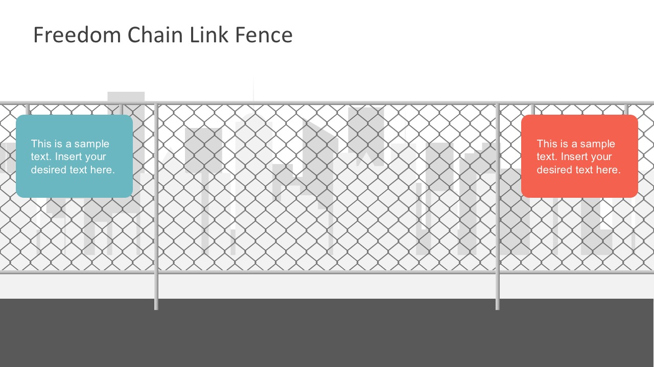 hight resolution of  free powerpoint templates chain fence