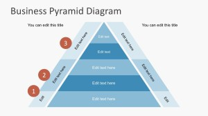Free Business Pyramid Diagrams for PowerPoint